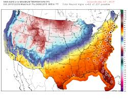 New England Weather Map by Scores Of Eastern U S Cities To Shatter Christmas Eve Warm