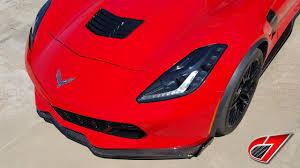 corvette front 2014 c7 corvette z06 front splitter stage 2 carbon fiber