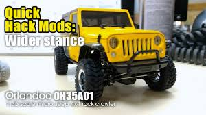 quick hack mods wider stance orlandoo oh35a01 1 35 scale micro