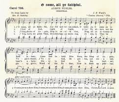 o come all ye faithful version 1