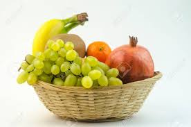 fruit in a basket fruits in a basket stock photo picture and royalty free image