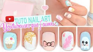nail art inspiration youtubeuses que j u0027aime youtube
