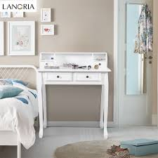 makeup vanity table with drawers langria makeup dressing table vanity and stool set with adjustable