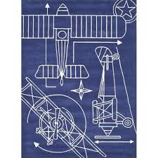 momeni lil mo airplane blueprint navy rug 2 x 3 navy 2 x3 momeni lil mo airplane blueprint navy rug 2 x 3