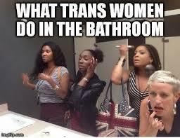 Bathroom Selfie Meme - the best bathroom panic memes and gifs so far queerty