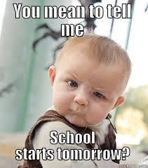 No School Tomorrow Meme - oh no quickmeme