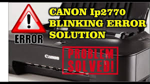Resume Printer Mengatasi Printer Canon Ip2770 Blink Orange Resume Youtube