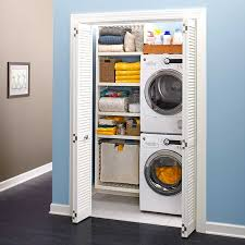 Washer And Dryer Cabinet Create A Closet Laundry