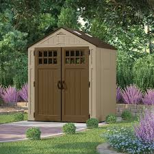 Backyard Storage Ideas by Furniture Interesting Suncast Storage Shed In White With Green