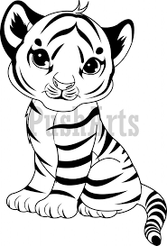 Baby Tiger Coloring Pages Kids Coloring Free Kids Coloring Coloring Pages Tiger