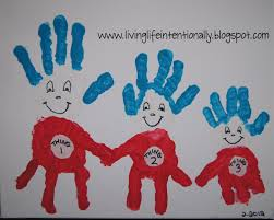 thing 1 2 3 handprint art fun family crafts