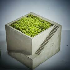 accessories concrete planter inspiration gifts for architects
