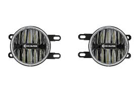 lexus gs yellow fog lights kc hilites gravity g4 led fog light pair pack system for toyota