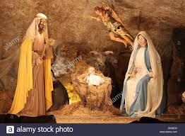 vatican december 25 the nativity scene of the christmas crib on