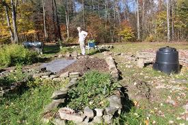 raised rock beds revamped for next garden season