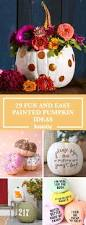 Halloween Decorations For Adults 35 Halloween Pumpkin Painting Ideas No Carve Pumpkin Decorating
