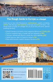 the rough guide to europe on a budget amazon co uk rough guides