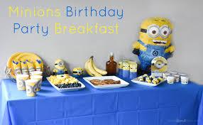 minions birthday party minions birthday party breakfast plus minions pancakes recipe