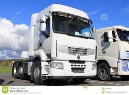 renault white white renault premium 460 truck editorial image image 33904205