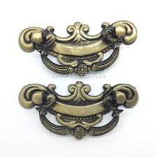 Antique Brass Kitchen Cabinet Hardware Online Get Cheap 64mm Cabinet Pulls Aliexpress Com Alibaba Group