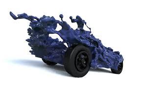 liquid pinewood derby car