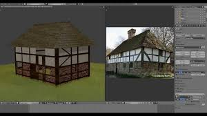 Tudor Style Houses by Blender 2 59 Tudor Style House Tutorial Modeling U0026 Materials