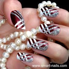 65 funkiest stripe nail art ideas to sport the cool look