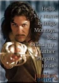 My Name Is Inigo Montoya Meme - inigo montoya meme inconceivable princess bride lol pinterest