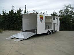carrello porta auto usato rimorchio furgonato auto lf 3000 con living