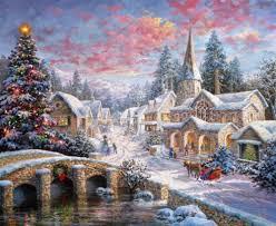 christmas pictures snow diamond painting diy 5d cross stitch