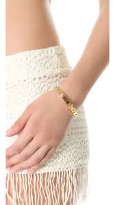 buckle bracelet gold images Michael kors astor buckle bangle shopbop jpg