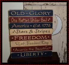 americana shelf signs patriotic sayings farm houses and