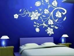 Designs For Walls Painter Tape Square Walls Best  Painters - Flower designs for bedroom walls