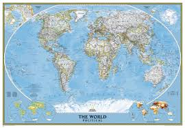 World Map Prints by Political World Map Large Size World Maps National