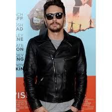 biker jacket james franco leather jacket men u0027s black biker jacket