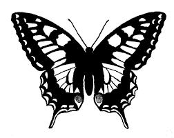 digital stamp design printable butterfly digital download
