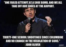John Oliver Memes - anti gun memes and cartoons guns memes and john oliver