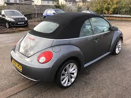 grey volkswagen bug used volkswagen beetle 1 6 sola cabriolet 2dr for sale socialmotors