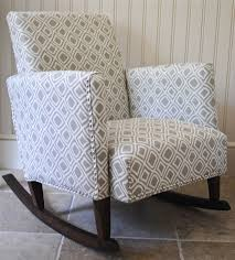Nursery Upholstered Rocking Chairs Diy Ish Upholstered Child S Rocking Chair Rocking Chairs