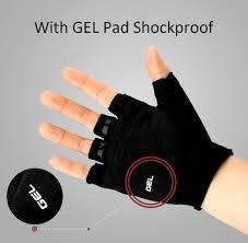 bike gloves sahoo gel pad hydrofuge bicycle half finger cycling gloves xl