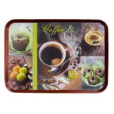 plateau de cuisine plateau de cuisine 38 x 27 cm coffe cakes vert bona reva