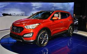 hyundai santa fe 2013 mpg 2013 hyundai santa fe front left view photo 180518 automotive com