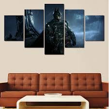 batman home decor atfipan home decor modular pictures 5pcs popular modern batman