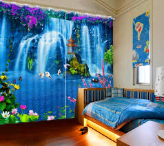 Drapes For Living Room by Online Get Cheap 3d Curtains Aliexpress Com Alibaba Group