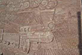 kansas profile now that s rural susie haver cloud county the longest sculpted brick mural in the u s is in concordia kansas
