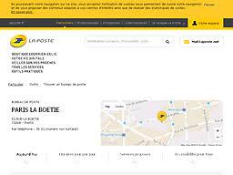 particulier outils trouver un bureau de poste laposte fr suivre une lettre un colissimo ou un envoi