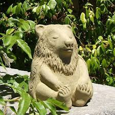 Outdoor Decor Statues Cast Stone Asian Inspired Statuary