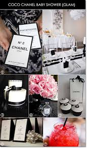 chanel baby shower baby glam coco chanel inspires a chic baby shower unique party