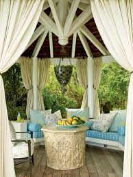 Outdoor Gazebo Curtains Give Fantastic Look To Your Place With Gazebo Curtains U2013 Carehomedecor