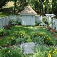 Garden With Trellis Lovely Cottage Garden Remodeling Ideas With Used Brick Flowers